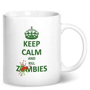 Keep Calm And Kill Zombies – Printed Mug