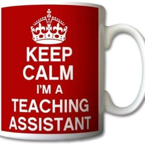 Keep Calm I'm A Teaching Assistant Mug Cup Gift Retro