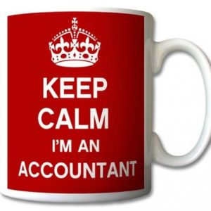 Keep Calm I'm An Accountant Mug Cup Gift Retro