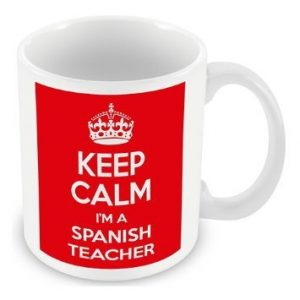 Keep Calm I'm a Spanish Teacher Mug / Cup