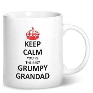 Keep Calm You're The Best Grumpy Grandad – Printed Mug