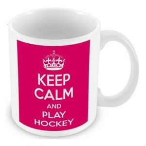 Keep Calm and Play Hockey Mug / Cup