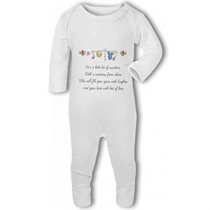 Little Bit of Sunshine Baby Boy – Baby Romper Suit