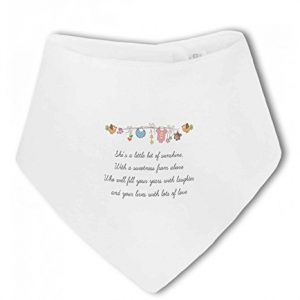 Little Bit of Sunshine Baby Girl – Baby Bandana Bib