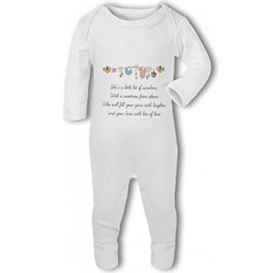 Little Bit of Sunshine Baby Girl – Baby Romper Suit