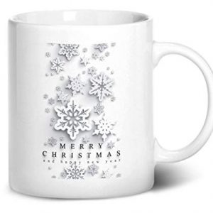 Merry Christmas Design 2 – Printed Mug