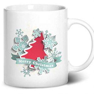 Merry Christmas Design 4 – Printed Mug