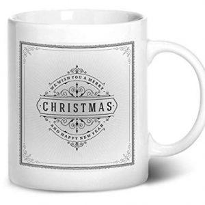 Merry Christmas Design 5 – Printed Mug