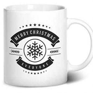 Merry Christmas Everyone Design 1 – Printed Mug