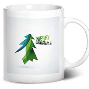 Merry Christmas Tree Design 1 – Printed Mug