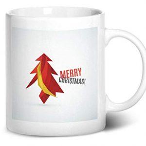 Merry Christmas Tree Design 2 – Printed Mug