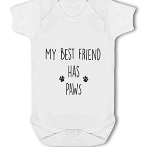My Best Friend has Paws cute – Baby Vest