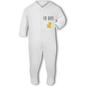 Oh Duck funny autocorrect – Baby Grow