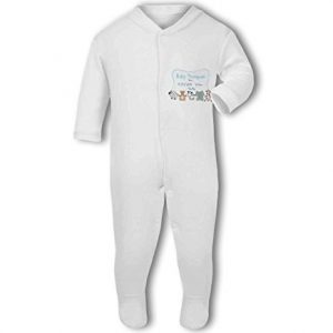 Personalised Baby Name, Birth, Weight, Time for Baby Boy – Baby Grow