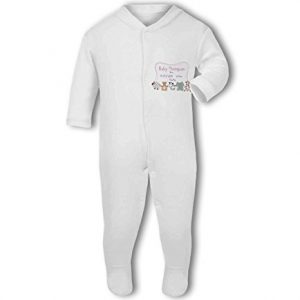Personalised Baby Name, Birth, Weight, Time for Baby Girl – Baby Grow
