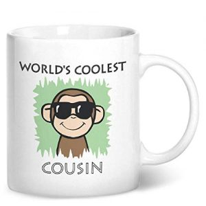Worlds Coolest Cousin Green – Printed Mug