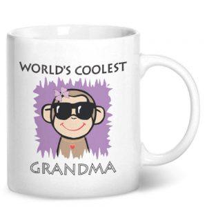 Worlds Coolest Grandma – Printed Mug