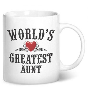 World's Greatest Aunt – Printed Mug