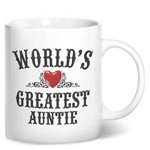 World's Greatest Auntie – Printed Mug