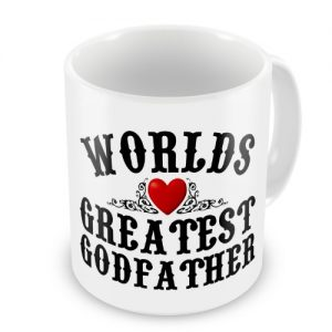 Worlds Greatest Godfather Novelty Gift Mug
