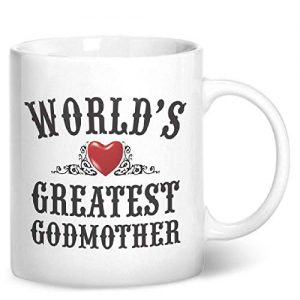 World's Greatest Godmother – Printed Mug