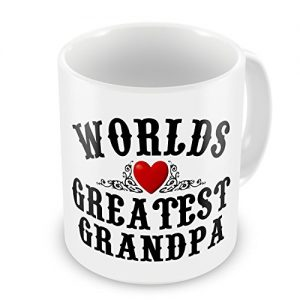 Worlds Greatest Grandpa Novelty Gift Mug