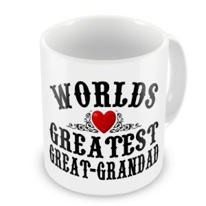 Worlds Greatest Great-Grandad Novelty Gift Mug