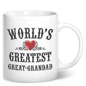 World's Greatest Great Grandad – Printed Mug